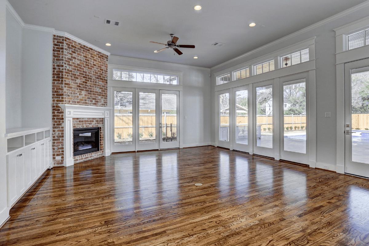 Natural Light In Houston Living Room