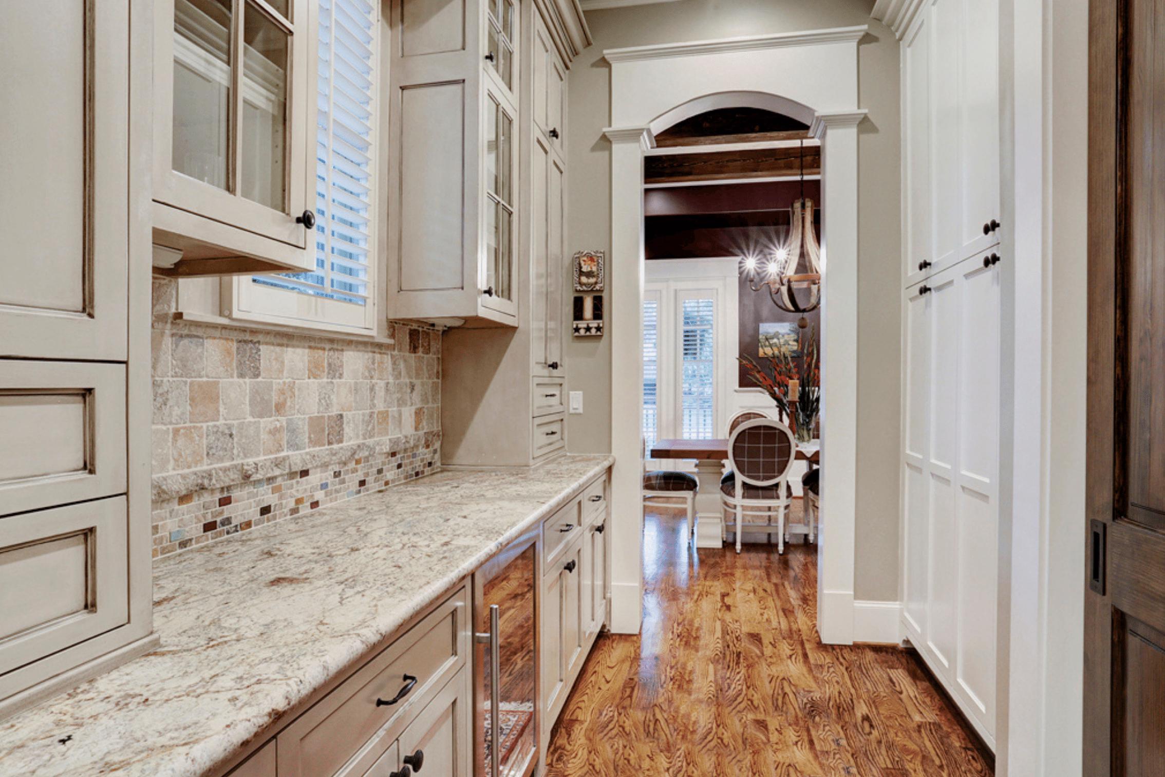 Kitchen Hallway in Houston