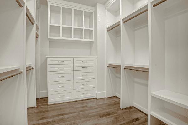 Custom Closet Storage in Houston Texas Luxury Home