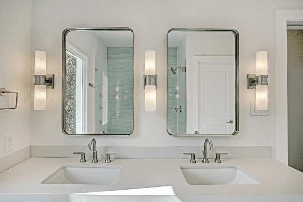 Luxury Double Vanity in Houston Texas