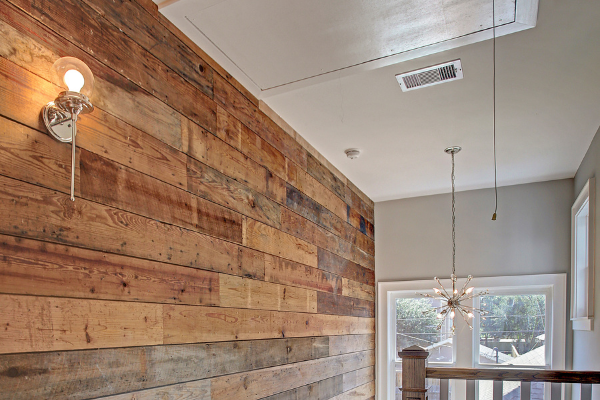 Historic Home Wall Paneling by Custom Home Builders in Houston