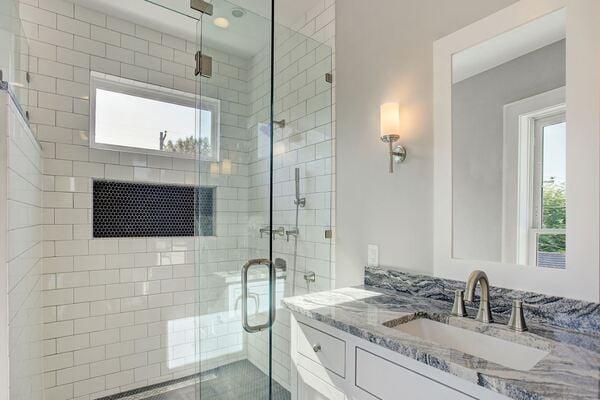 Houston Bathroom Remodel in The Historic Heights Neighborhood