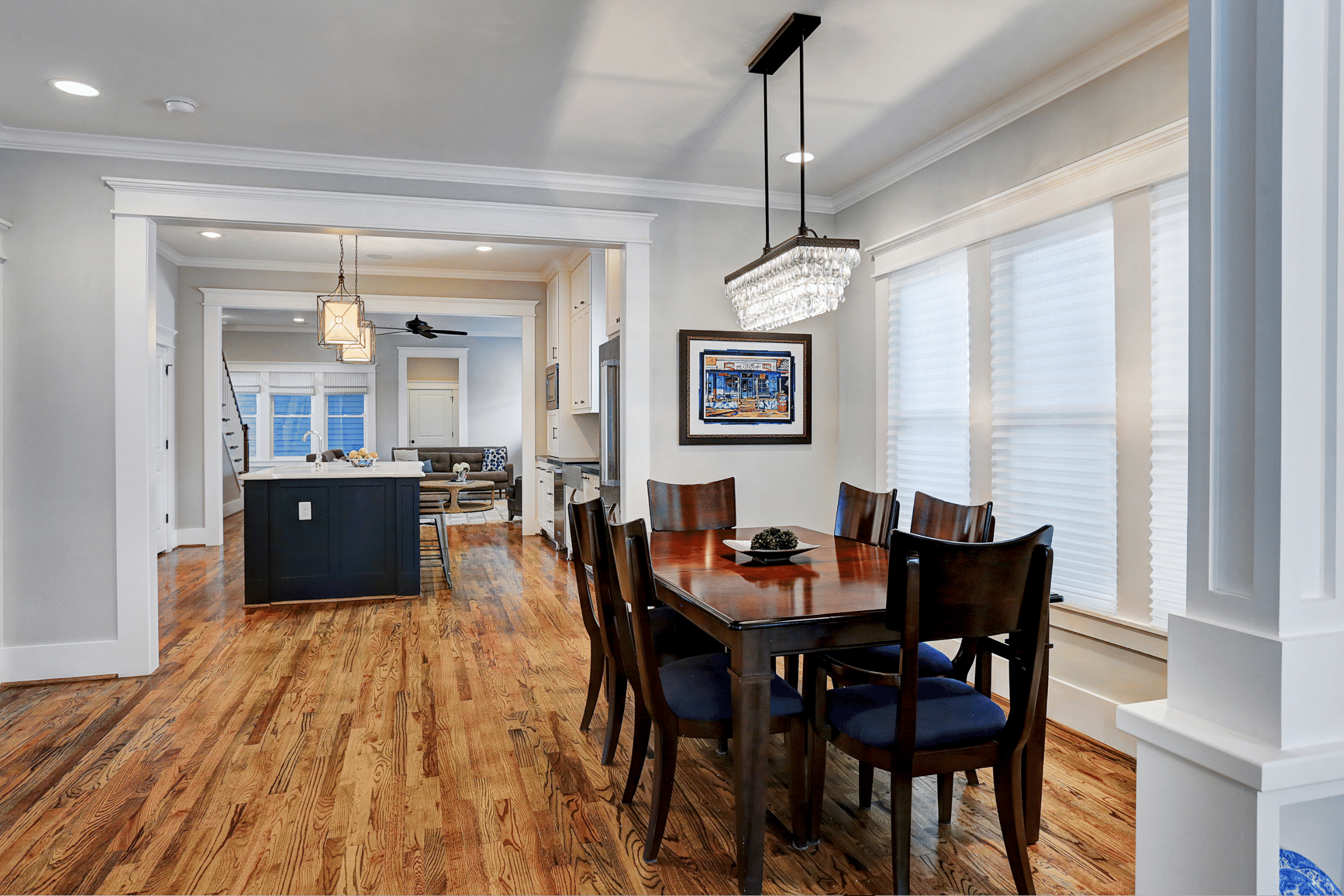 Home Builders Houston Area Dinning Room