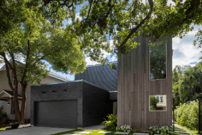 Modern Commercial Brick Remodel In Houston Texas