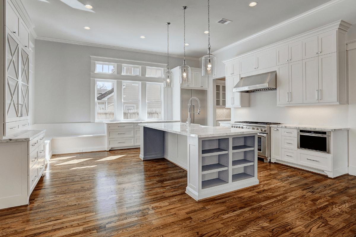 Open Floor Plan Kitchen in Houston
