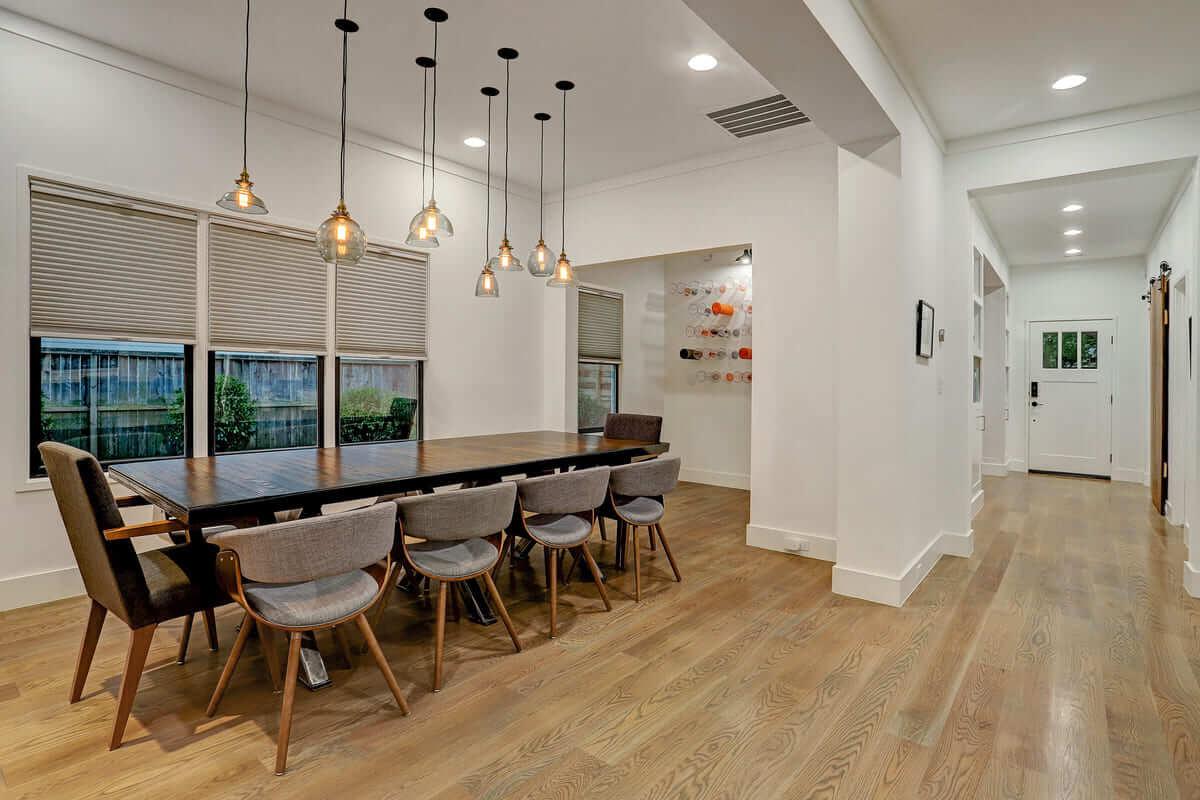 Ashland 1418 Houston Additon & Remodel Dining Room