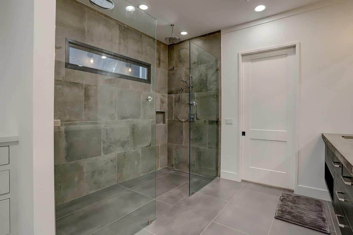Ashland 1418 Houston Additon & Remodel Master Bathroom Walk In Shower