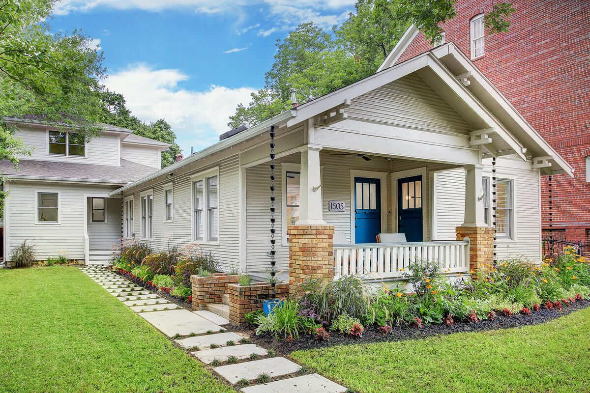Oxford Street Home Remodel - Front Elevation