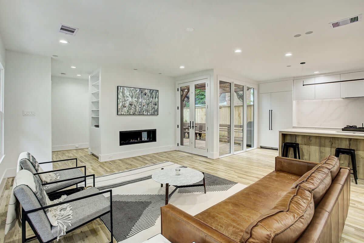 Oxford Street Home Remodel Living Room