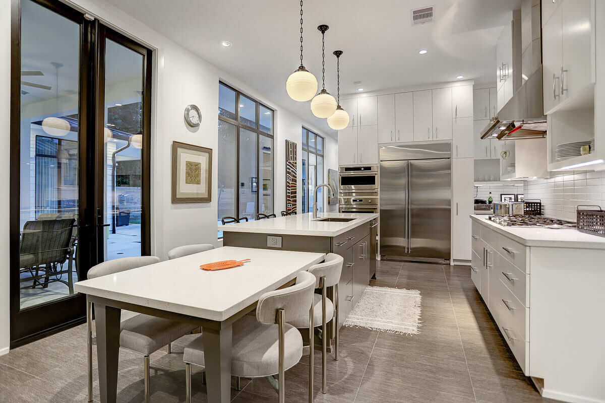 Lawrence Open Concept Kitchen and Dining Room